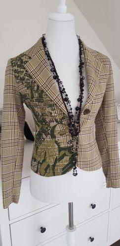 Denny Rose Blazer unisexe multicolore laine