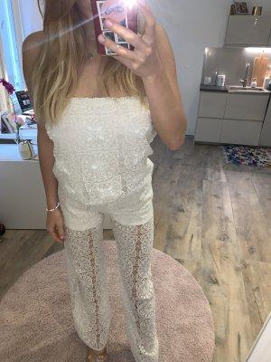 Suggest Tailleur pantalone bianco-bianco sporco