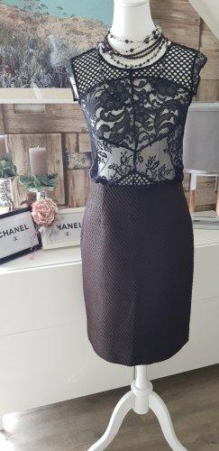 Marc Jacobs Jupe mi-longue noir-brun coton