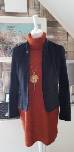 Zara Blazer unisexe noir coton