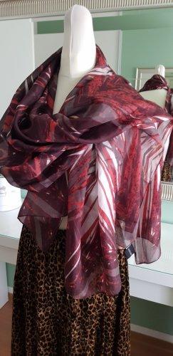 Madeleine Sciarpa di seta multicolore