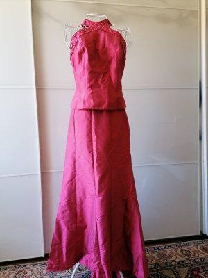 Luisa Spagnoli Abito con corpetto rosa-rosa