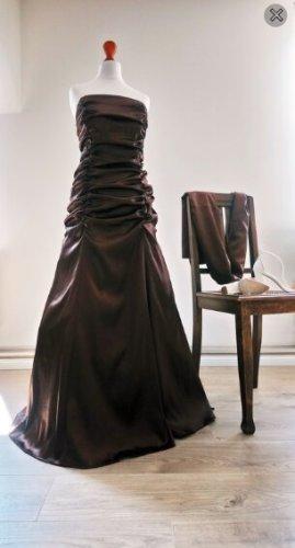 Sukienka bez ramiączek Wielokolorowy Tkanina z mieszanych włókien