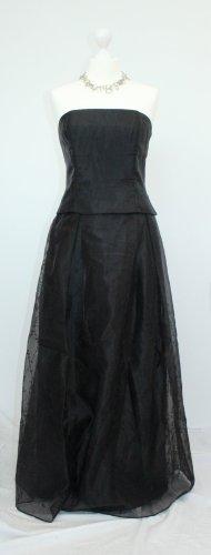 Sukienka z gorsetem czarny Nylon