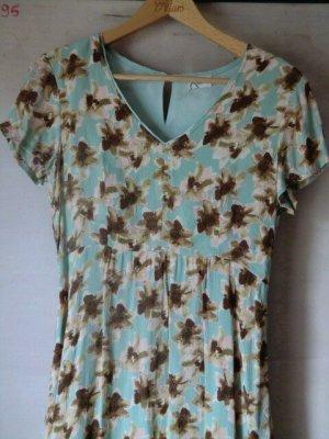 Traumhaftes Blumen Kleid Viskose Sommerkleid dress floral print