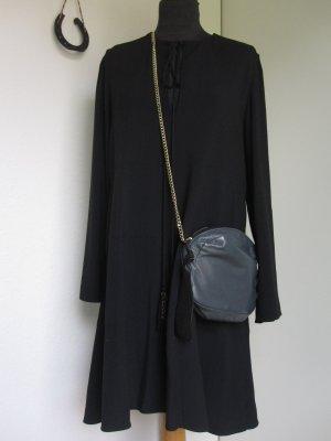 Chloé Robe à manches longues noir viscose