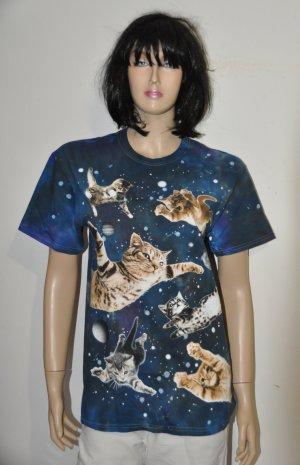traumhaftes Katzen T-Shirt Gr. 40/ 42