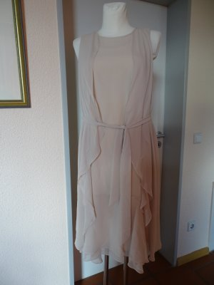 Apart  glamour Midi Dress cream-natural white polyester