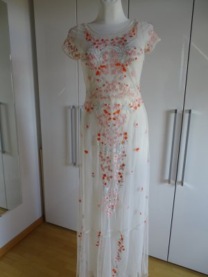 French Connection Maxi Dress multicolored polyamide