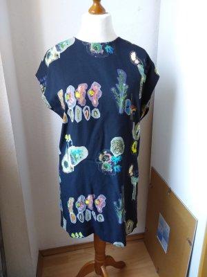 & other stories Vestido tipo túnica multicolor Viscosa