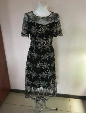 Traumhaftes Kleid Vintage romantisch boho Stickerei Größe 34/36