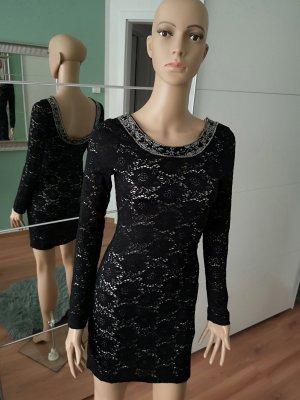 Denim & Supply Ralph Lauren Mini Dress black polyamide