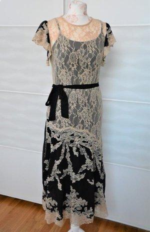 traumhaftes Midikleid Kleid mit Spitze Abendkleid Gr. 36 neu !
