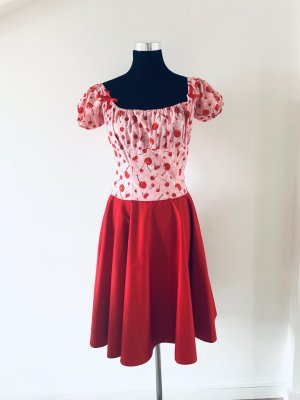 Petticoat Dress red-neon pink