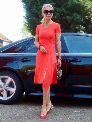(The Mercer) NY Sukienka z dżerseju czerwony Poliester