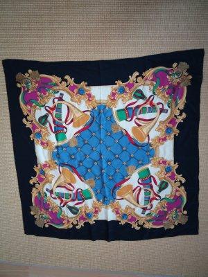 Zijden doek veelkleurig Zijde