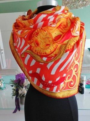 Carven Foulard en soie multicolore soie