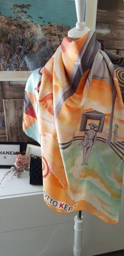 Otto Kern Foulard en soie multicolore soie