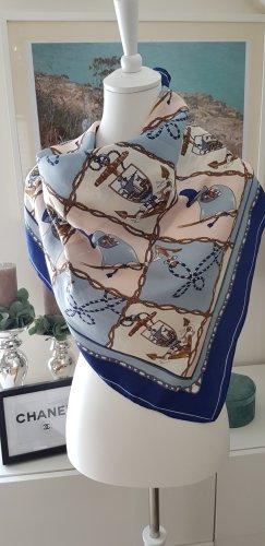 Foulard en soie multicolore soie