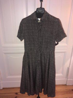 Traumhaftes Sommerkleid Seide-Baumwolle, toller Schnitt, viele Details