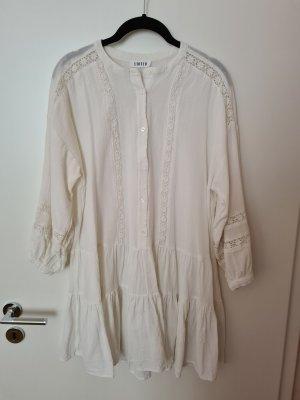 Edited Robe Hippie blanc coton