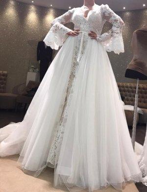 Pronovias Vestido de baile blanco