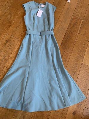 Hugo Boss Midi-jurk lichtblauw