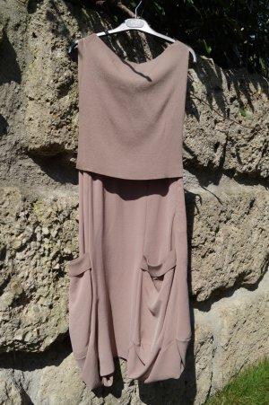 Crea Concept Balloon Dress dusky pink wool (merino wool)