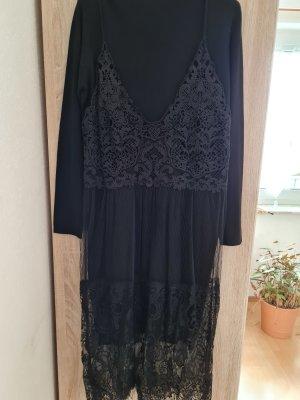 Beauty Women Kanten jurk zwart