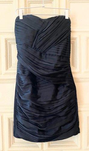 Traumkleid von Gestuz, schwarz, Bandeau, Abendkleid, Gr. 34 xs