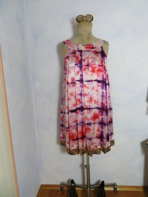 Odd Molly Babydoll Dress multicolored silk