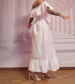 Rinascimento Vestido largo blanco