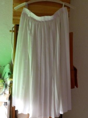 Fringed Skirt white polyester