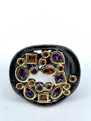 Juwelier Statement ring zwart