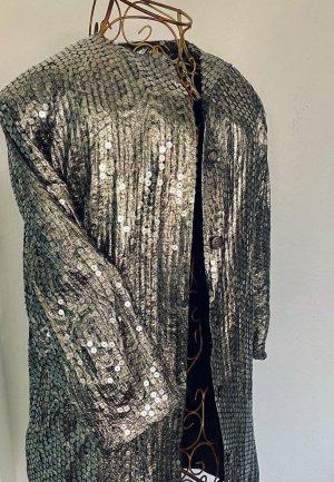 Blazer de esmoquin color bronce-color oro