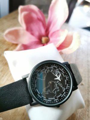 Asos Analoog horloge zwart