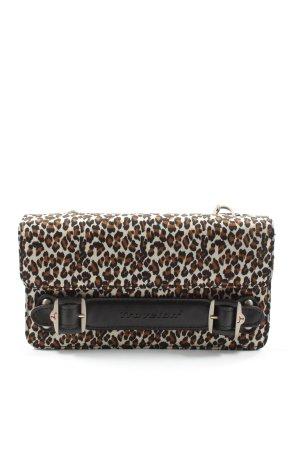 Travelon Bolso con correa estampado de leopardo elegante