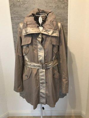 Cosima Trench Coat light grey-grey brown cotton