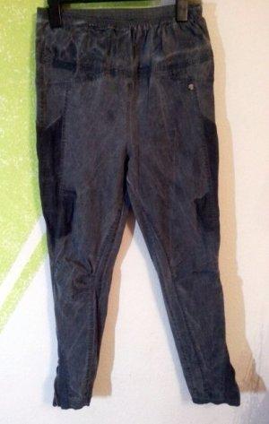 Tredy Bengalin Jeans Stretch viele Details  schwarz rauch Gr 46 (48)