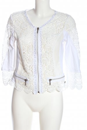 Tredy Blouse Jacket white casual look