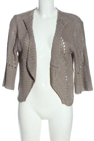 Tredy Cardigan in maglia grigio chiaro stile casual