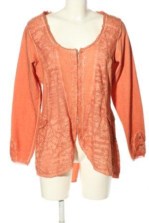 Tredy Cardigan light orange casual look