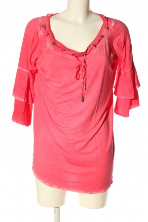 Tredy Carmen-Bluse pink Casual-Look