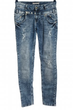 Tredy High Waist Jeans blau Casual-Look