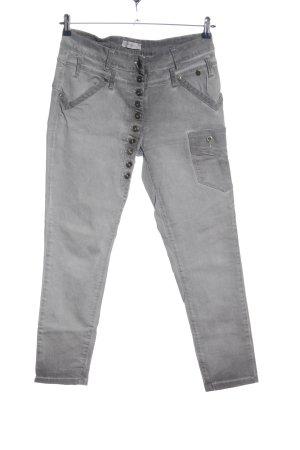 Tredy High Waist Jeans hellgrau Casual-Look