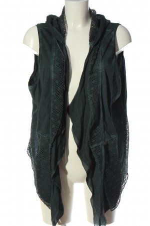 Tredy Hooded Vest green casual look