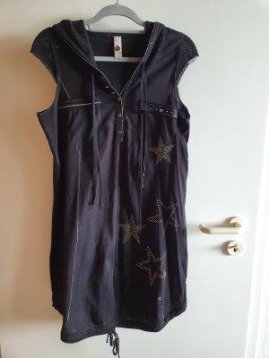 Tredy Sukienka z kapturem czarny