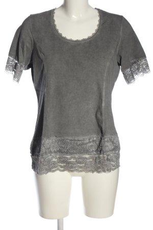 Tredy T-Shirt hellgrau Casual-Look