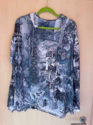 Tredy Camicia lunga blu acciaio