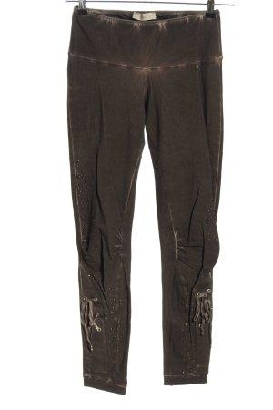 Tredy Leggings braun Casual-Look